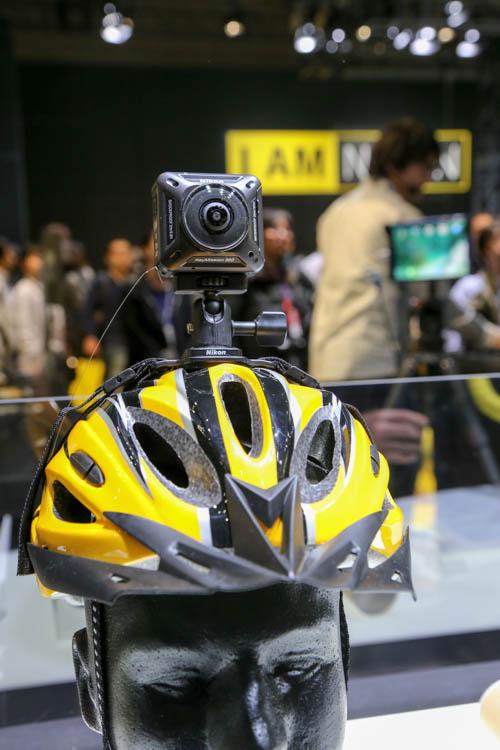 CP+2017(カメラ・写真のイベント)ニコン アクションカメラ