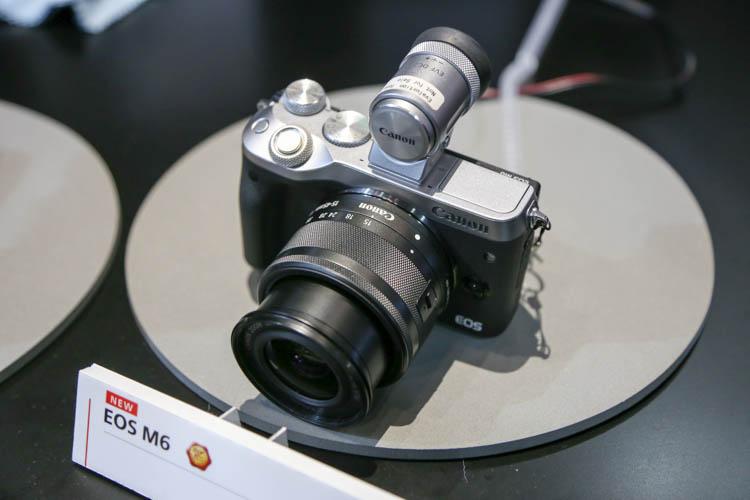 CP+2017(カメラ・写真のイベント)キヤノン EOS M6